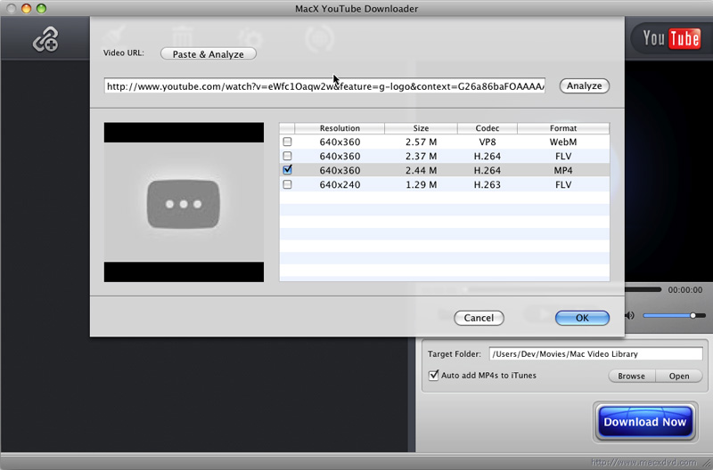 MacX YouTube Video Downloader
