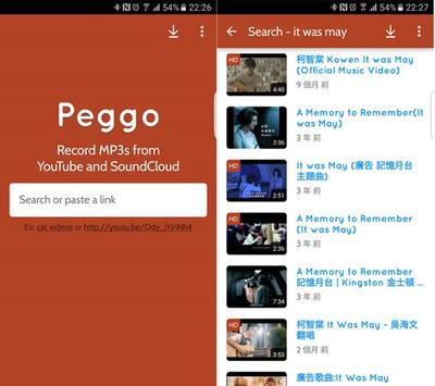 Peggo YouTube to MP3 Converter