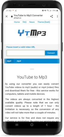 Download YouTube MP3 on Android Phones