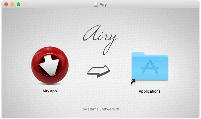 Download and install Airy