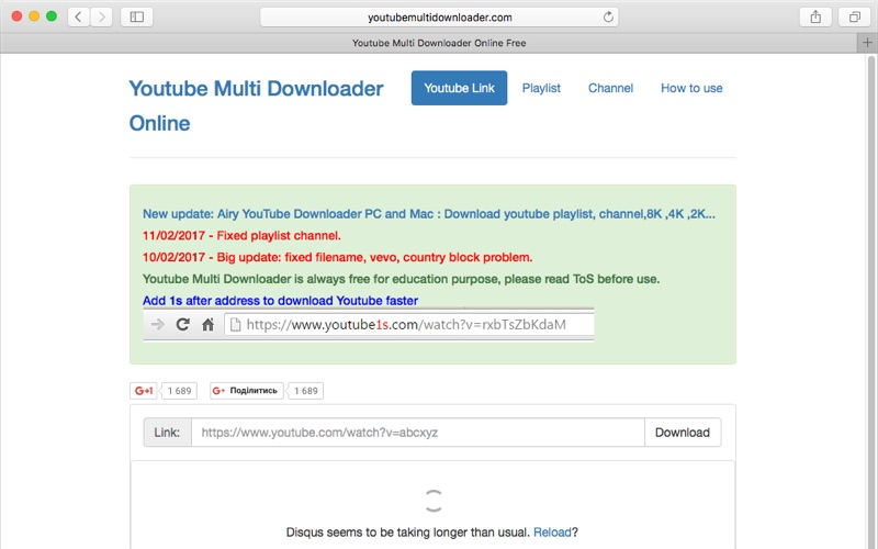 Youtube Multi Downloader Online