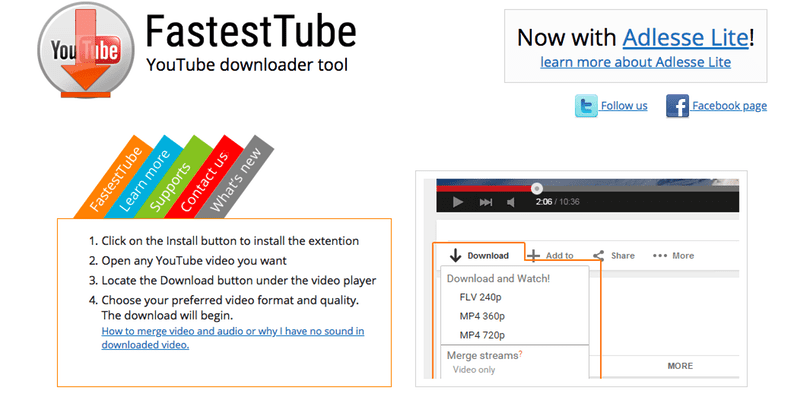download video youtube firefox format mp4