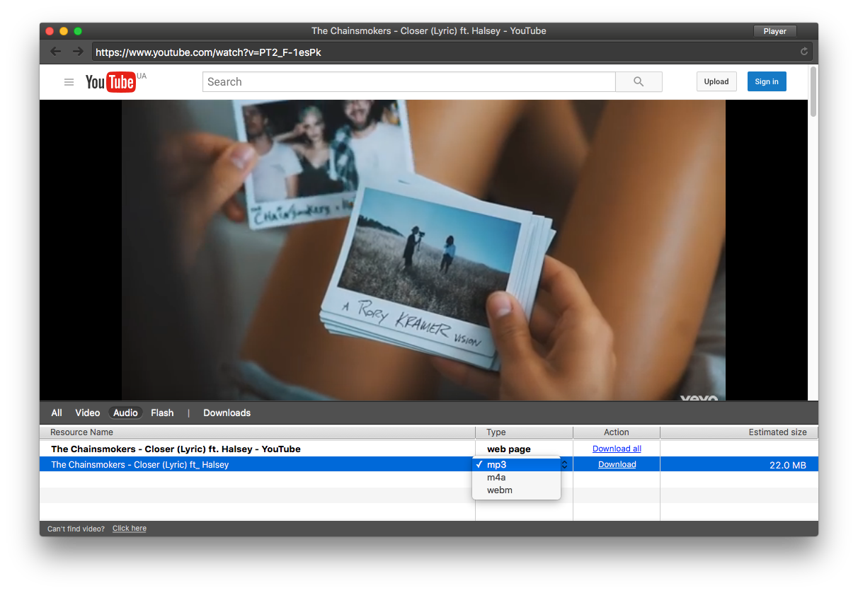 List of best methods to save youtube videos on mac you can save the video as mp3 stopboris Choice Image